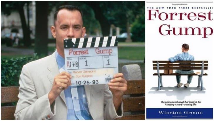tom hanks grabaciones forrest gump y novela que inspiro a la pelicula