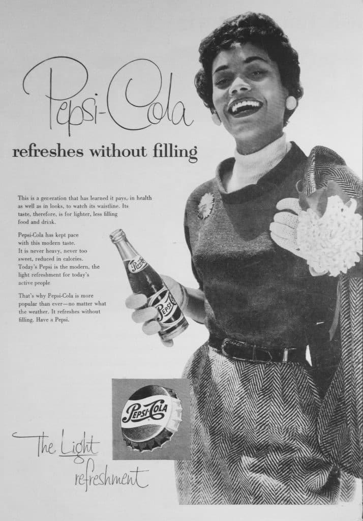 Pepsi Cola anuncio mujer negra