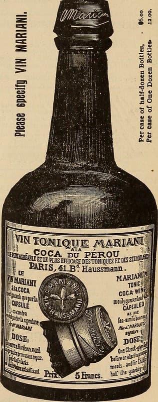 Vin Mariani coca de peru