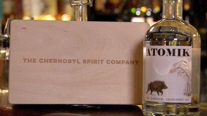 chernobil spirit company vodka box