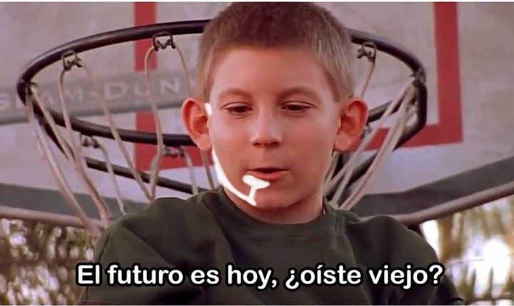 el futuro es hoy meme