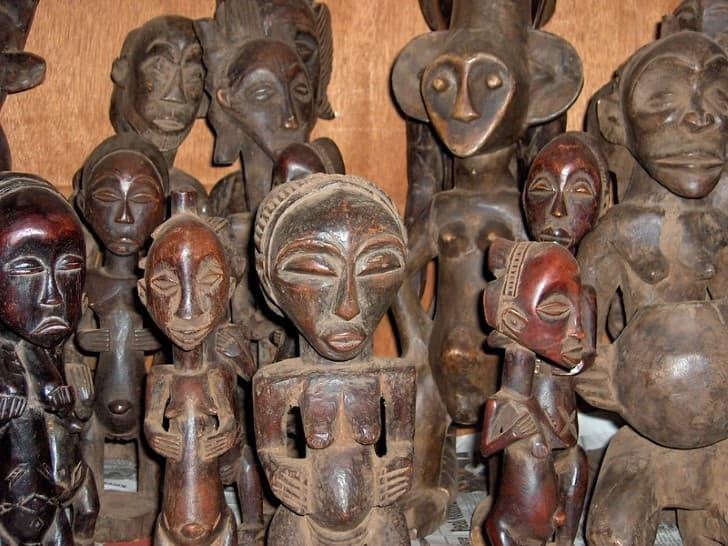 estatuas de fertilidad de el congo