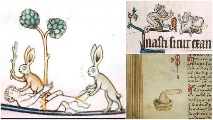 marginalia libros medievales