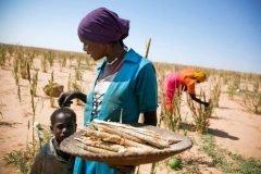 mujer trabajando y cuidando a su hijo