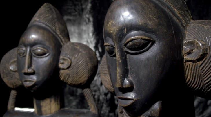 rostro estatuas de la fertilidad