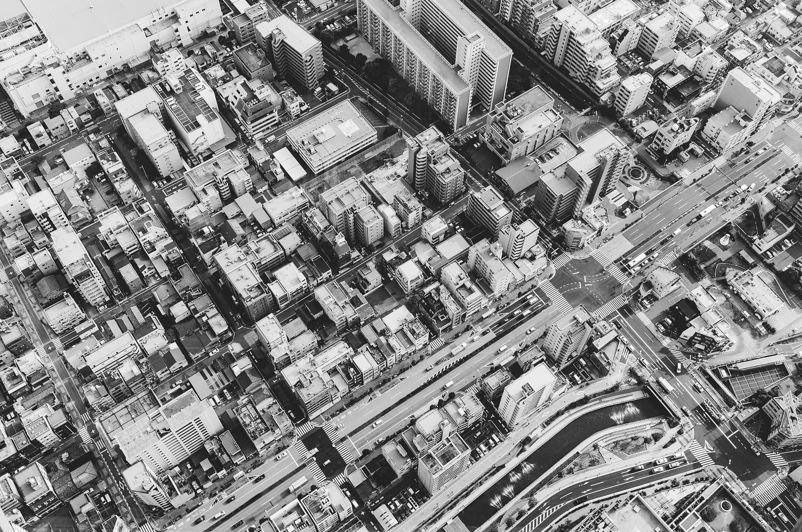 tokio vista desde el mirador de Tokyo Skytree