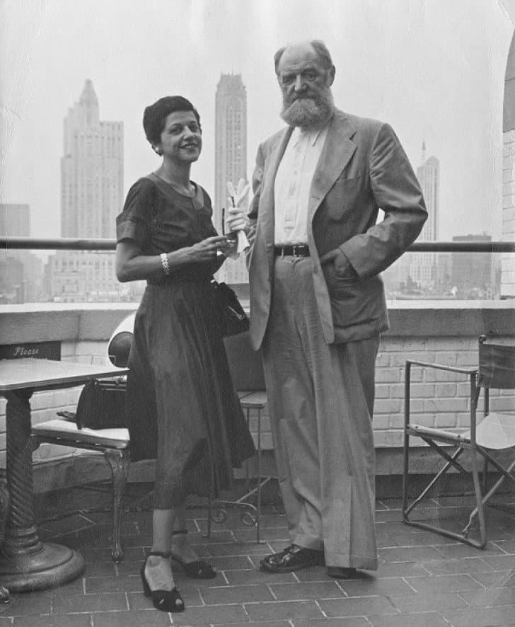 Peter Freuchen y Dagmar Cohn