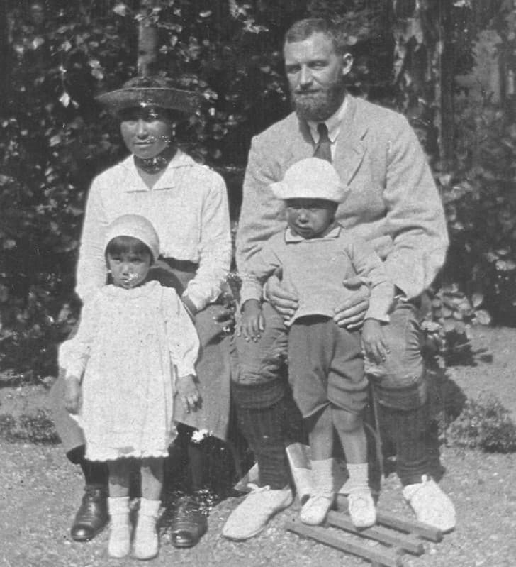 Peter Freuchen y su esposa inuit