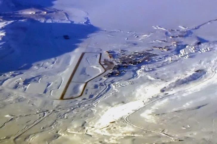 base aerea de thule en groenlandia