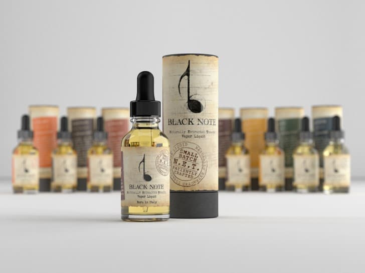black note eliquid