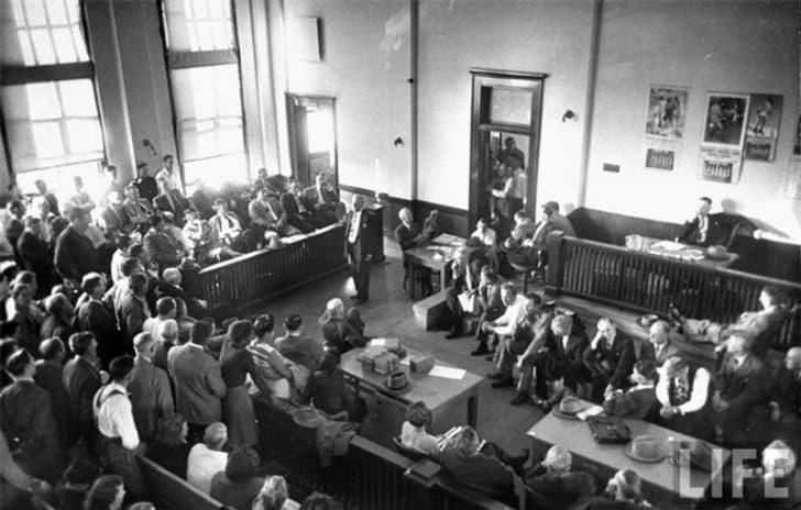 juicio en la decada de 1950