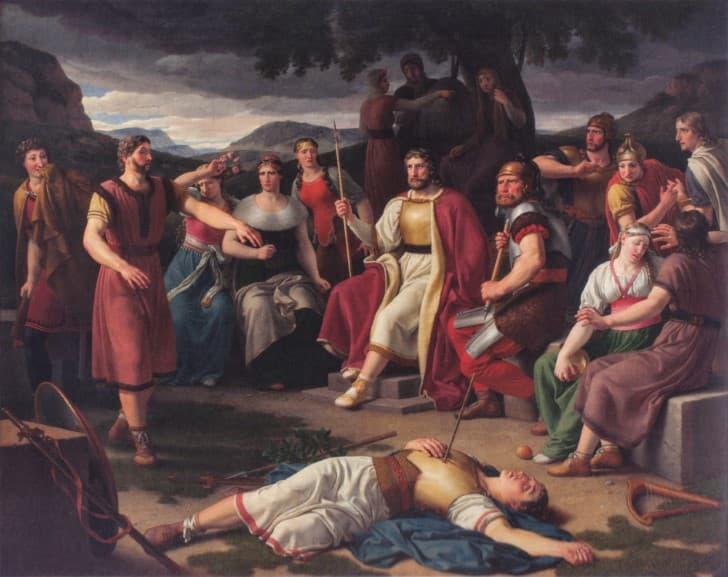 la muerte de Balder