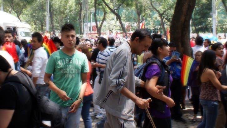marcha del orgullo en mexico 2012
