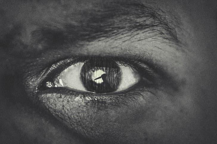 ojo de muerte
