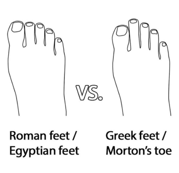 pie romano vs pie griego