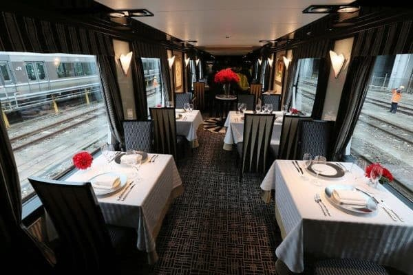 restaurante tren sunrise express