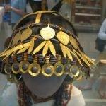 sombrero decorativo pieza de museo
