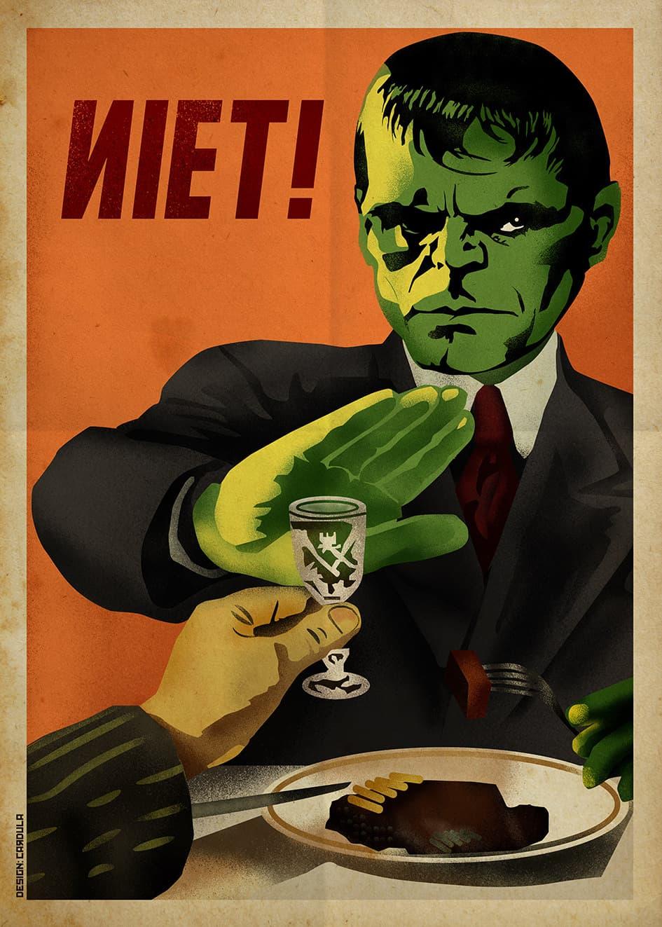 superheroes carteles sovieticos hulk(4)