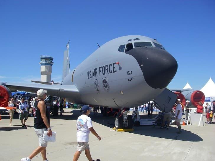 E 6B Mercury de la fuerza aerea de los estados unidos