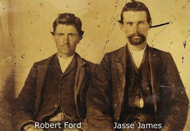 Jesse James y Robert Ford