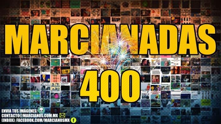 Marcianadas 400 portada