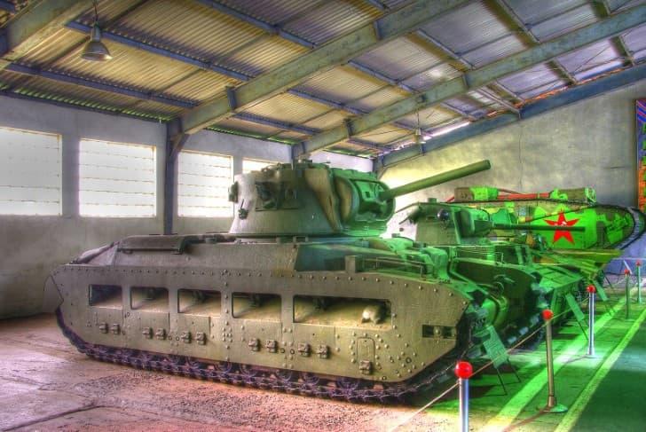 Tanque de guerra ingles Matilda II