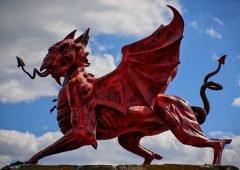 La leyenda del dragón rojo de Gales