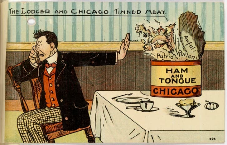 escandalo de la carne en chicago 1906