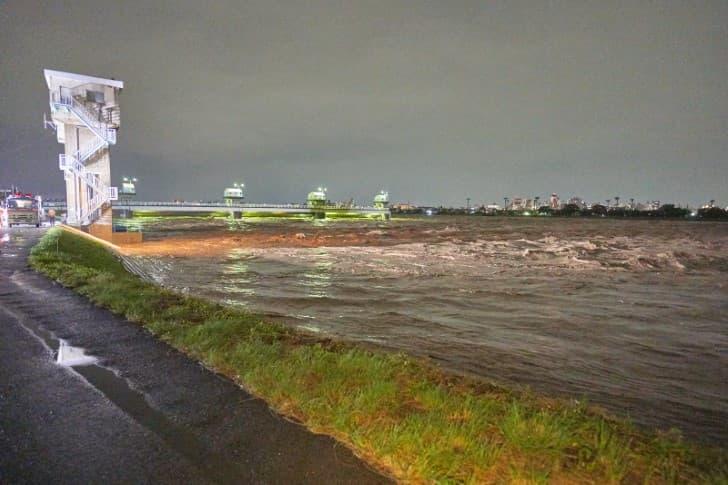 inundaciones del tifon Hagibi