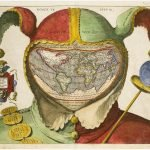 mapa en el gorro del bufon