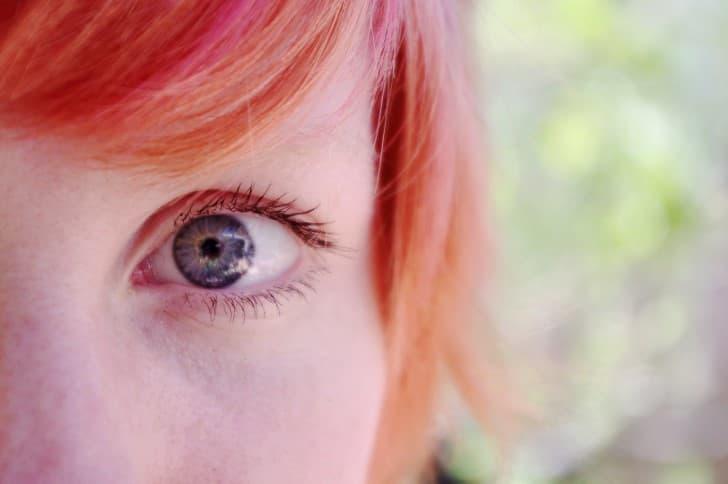ojos de sorpresa