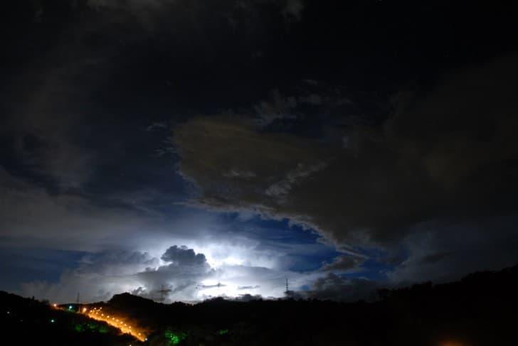 tormenta en japon