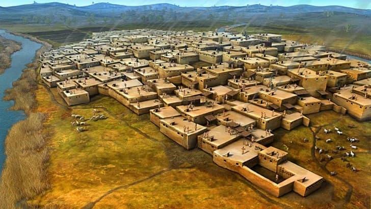 Ciudad Çatalhöyük