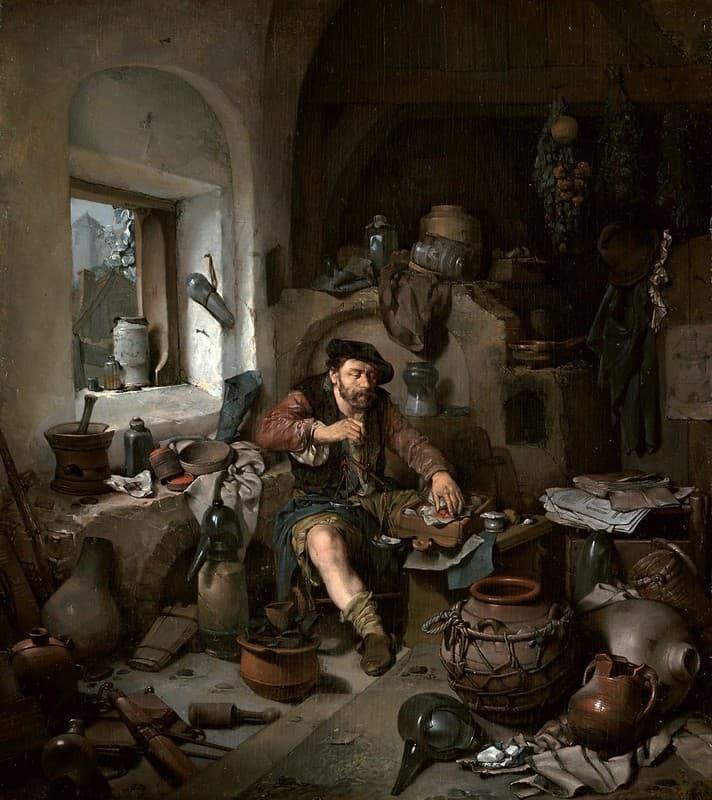 Cornelis Bega el Alquimista
