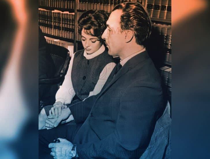 Lawrence Bader y su esposa