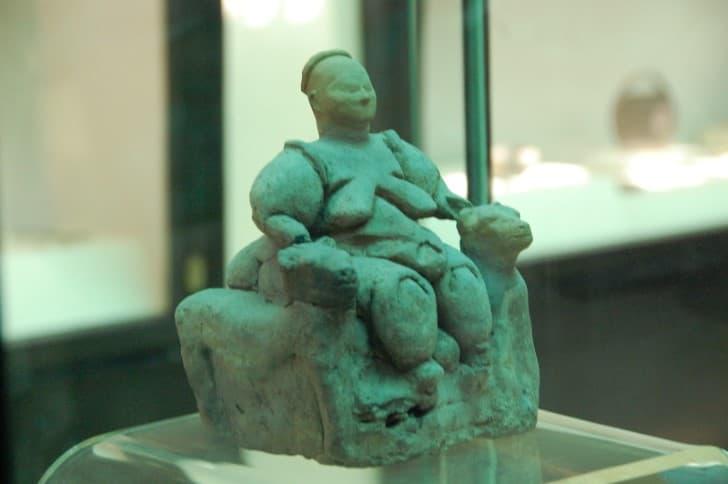 diosa de la fertilidad Çatalhöyük