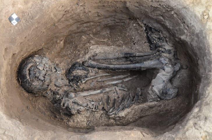 osamenta en Çatalhöyük