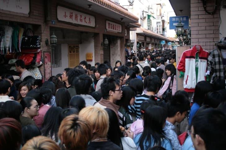 poblacion en china