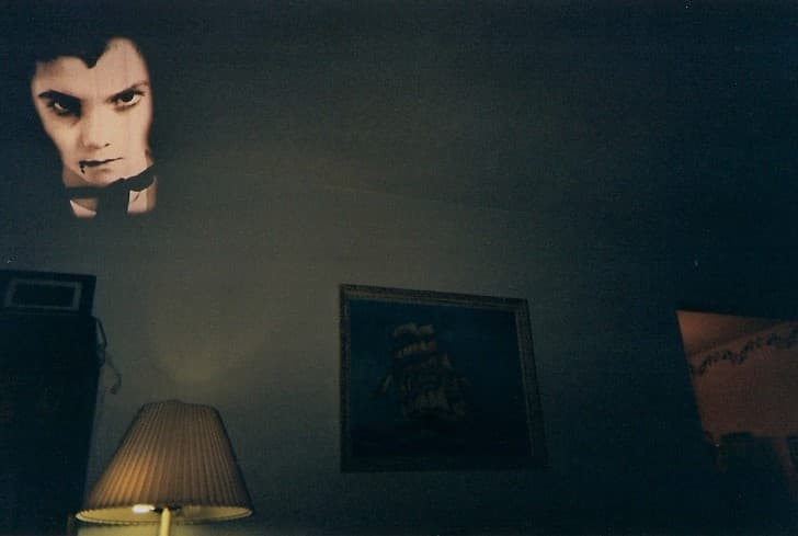 reflejo de un vampiro
