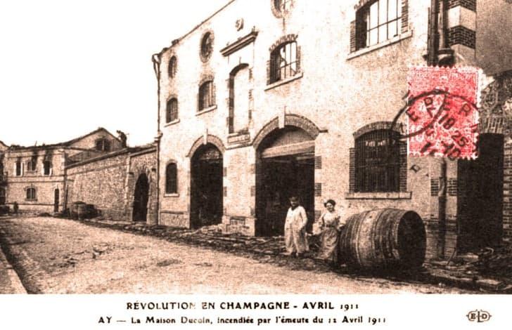 revolucion de la champaña