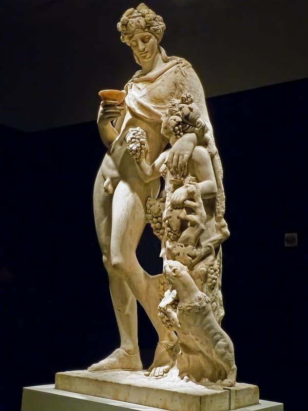 Dionisio y la personificacion del vino