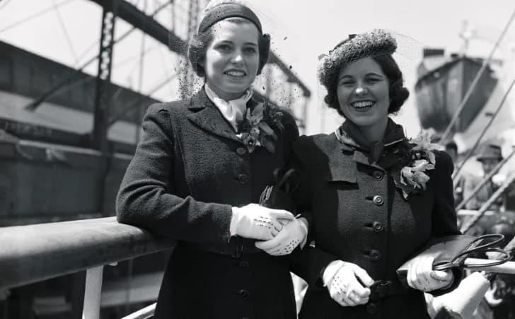 Eunice y Rosemary Kennedy 1938