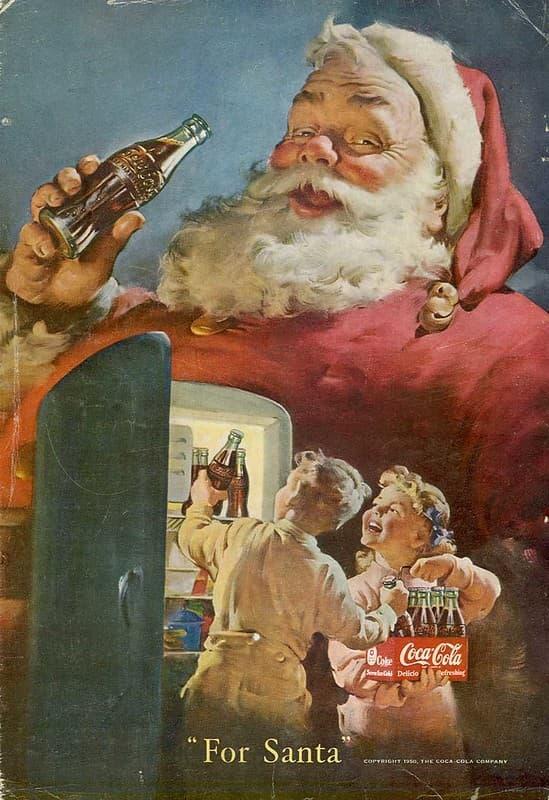 La navidad de Coca Cola
