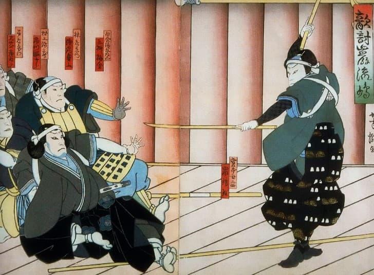 Miyamoto Musashi duelo