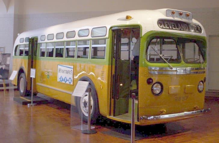 Rosa Parks autobus 2857