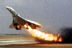 Vuelo 4590 de Air France accidente