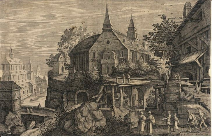 ciudad europea 1600