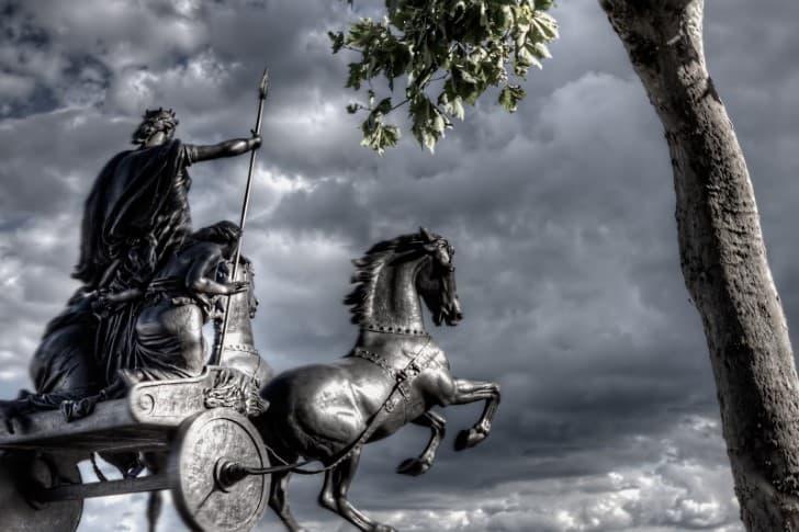 estatua de Boudica