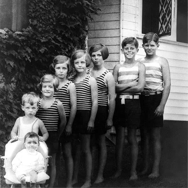 los hijos de los Kennedy