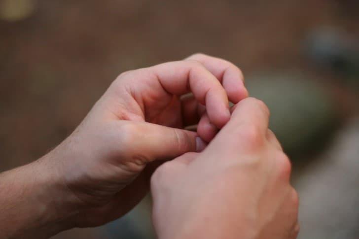 manos nerviosas